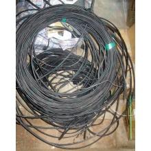 Оптический кабель Б/У для внешней прокладки (с металлическим тросом) в Березниках, оптокабель БУ (Березники)