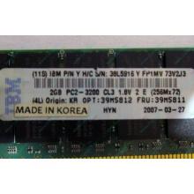 IBM 39M5811 39M5812 2Gb (2048Mb) DDR2 ECC Reg memory (Березники)